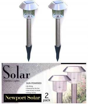 two pack hut solar lights