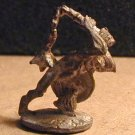 RAL PARTHA Orc with heavy flail / 25mm D&D miniature figure
