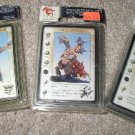 x3 rackham confrontation packs Boor on Razorback / Barb halberd / Goblin lancers