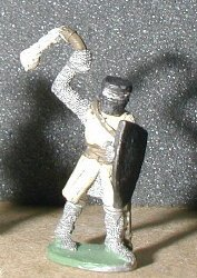 Ral Partha classic fighter with flail (champion) / 25mm gaming figure