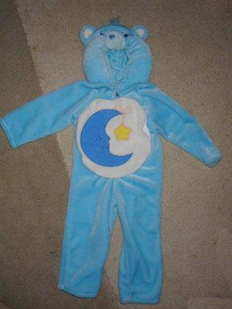 Halloween Costume - Bedtime blue Care Bear / 1-2 Toddler carebear