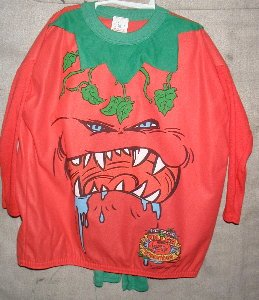 Halloween Costume - Attack of the Killer Tomatos size 6yrs