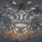 The Mountain Fantasy T-shirt black Dragon XXL NWOT