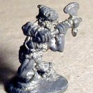 Ral Partha 25mm classic dwarf with battle axe 25mm scale D&D figure.