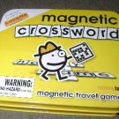 miniature magnetic Travel crossword game NEW