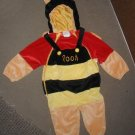 Winnie the Pooh / honey bee toddler costume Disney Store 18-24 m