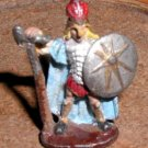 Ral Partha armored fighter with halberd / 25mm D&D miniature figure
