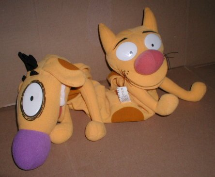 CatDog older cartoon puppet - mattel 1998