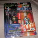 Microman Magne Power Cassette Cain with Sonic Bike