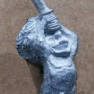 "Heritage Custom Cast #1158 ape man w/ sword ""Bad Hairy Nude Things"""