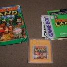 Nintendo Gameboy Donkey Kong Land cartridge in box