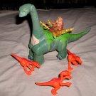 Imaginext Thunder the Brontosaurus + caveman & raptors