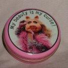 vintage Miss Piggy Hallmark tin My Beauty is My Curse muppets