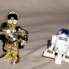 STAR WARS Galactic Heroes C3P0 and R2D2