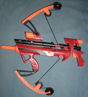 Nerf big bad bow gun soft arrow shooter