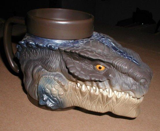 Equity toys Godzilla Gruesome gulper kids cup HTF