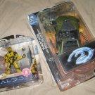 Halo Spartan Soldier & Warthog toys MIP