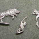 Ral Partha Goblin wolf riders vintage D&D lead LOTR Warg figures MINT