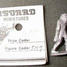 ASGARD FM-7 Golem Dungeons & Dragons vintage 25mm D&D figure NIP