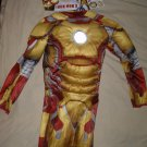 Halloween Costume - Marvel Disguise Ironman 3 puffy 7-8