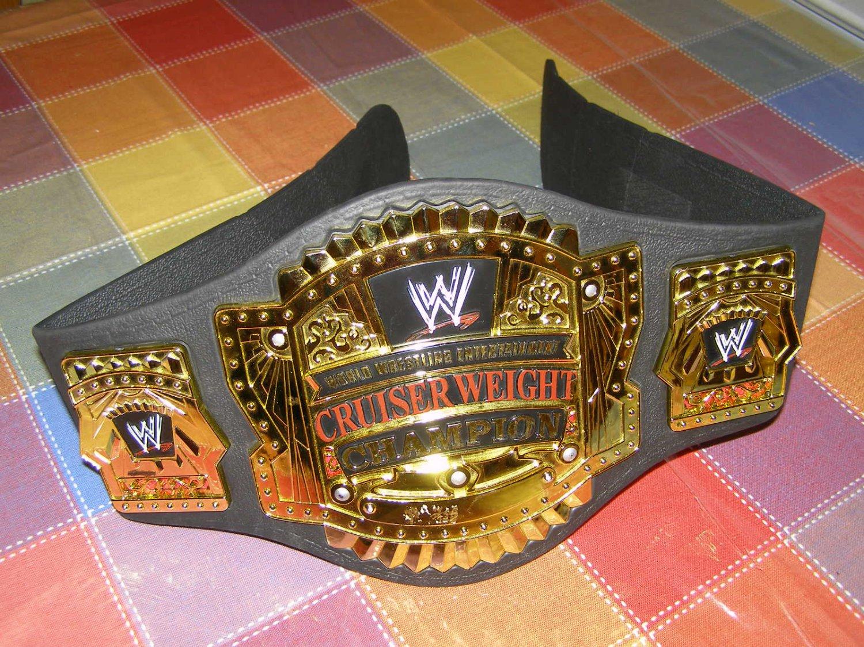 Jakks Pacific 2002 Wwe Cruiserweight Championship Foam