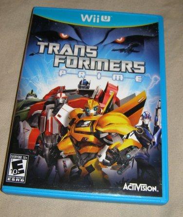 Transformers Prime: The Game - Nintendo Wii U used
