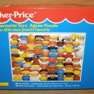 NEW sealed Fisher Price My favorite toys puzzle 1993 little chunky people