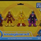 Imaginext DC Super Heroes and Villains + Professor Z yellow reverse flash