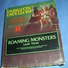Heritage Dungeon Dwellers Roaming Monsters level 3 vtg D&D box