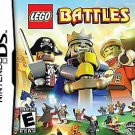 LEGO Battles (Nintendo DS, 2009) Pirates, Castle Space Themes Unite! NEW!
