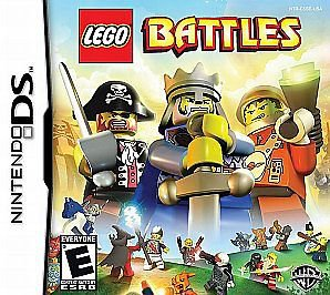 LEGO Battles (Nintendo DS, 2009) Pirates, Castle Space Themes Unite! NEW!