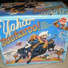 YAHOO BUCKAROO Motorized board game vtg 1991 complete