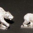 Ral Partha 25mm Bear miniatures wilderness animals figures pewter