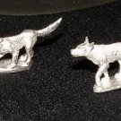 Ral Partha Citadel ? 25mm hunting dog miniatures wilderness animals figures pewter
