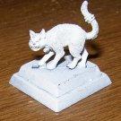 Reaper Warhammer large cat 25-28mm familiar figure pewter w/ base