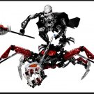 Lego Bionicle Warriors Vezon & Fenrakk 8764 titan beast rider buildup