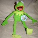 "Kermit the frog muppet 12"" plush by Nanco NWT"