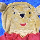 Vintage Winnie The Pooh bear fuzzy Sleeping Bag GC