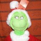 Plush How the Grinch Stole Christmas Santa Dr. Seuss movie toy NWT