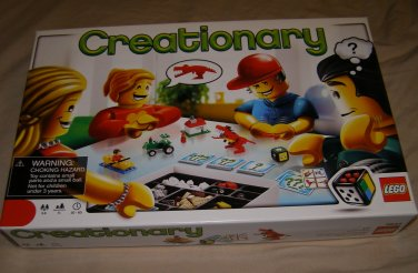 Lego 3844 Creationary Game Set Building Guessing Game
