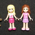 LEGO Friends misc girl figures and pets hedgehog & bear