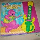 Play-A-Song BARNEY the purple dinosaur Rock-Along Songs guitar book