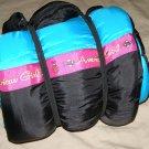 American Girl Sleep over girl's sleeping bag zipper camping bed
