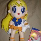 Sailor Moon Sailor Venus plush doll cute soft gift toy new 8""