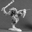 Reaper Miniatures Battle Troll 03087 Dark Heaven Legends Pewter MOC
