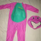 Halloween Costume - Barney the purple dinosaur size 3-4 years