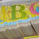 Sesame Street ABC Alphabet block puzzle book set