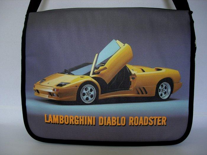 "Lamborghini Diablo Roadster 15"" Laptop Notebook Shoulder Case Bag"