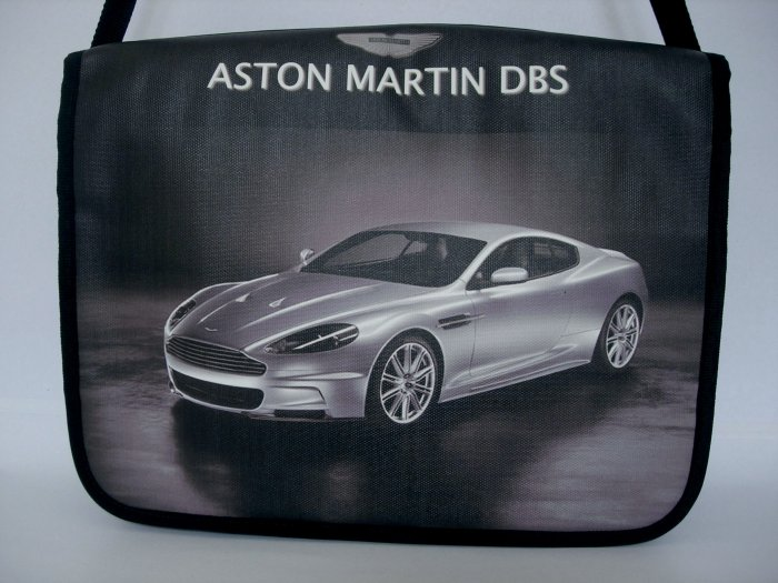 "Aston Martin DBS Car 15"" Laptop Notebook Shoulder Case Bag"