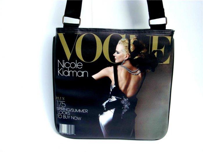 Nicole Kidman Vogue Magazine Cover Fashion Messenger Bag Purse